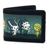 Wallets - Loungefly Universal Monsters Chibi Characters Bifold Wallet