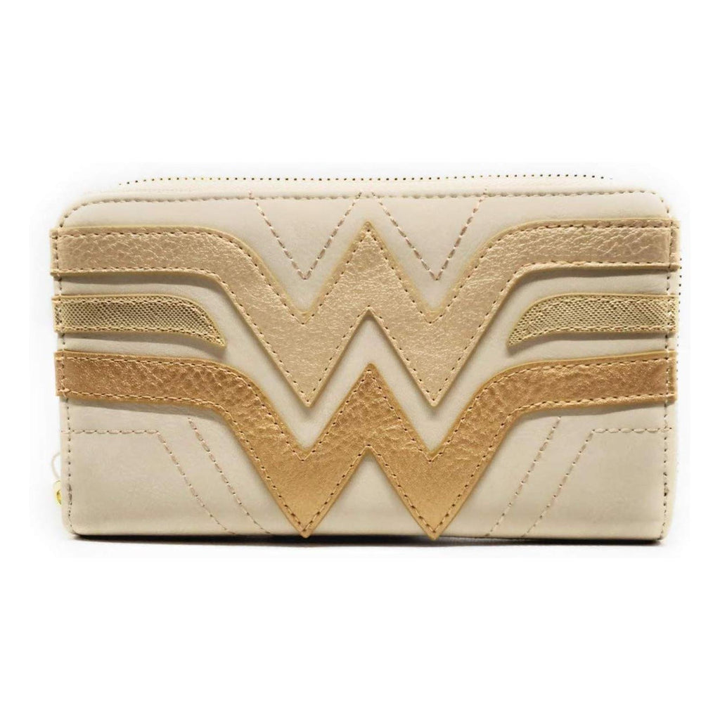 Loungefly Wonder Woman Logo Zip Around Wallet