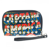 Marvel Captain America Studded Zip Around Wallet - Radar Toys