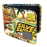 Marvel Comics Print Outside Bi-Fold Wallet - Radar Toys