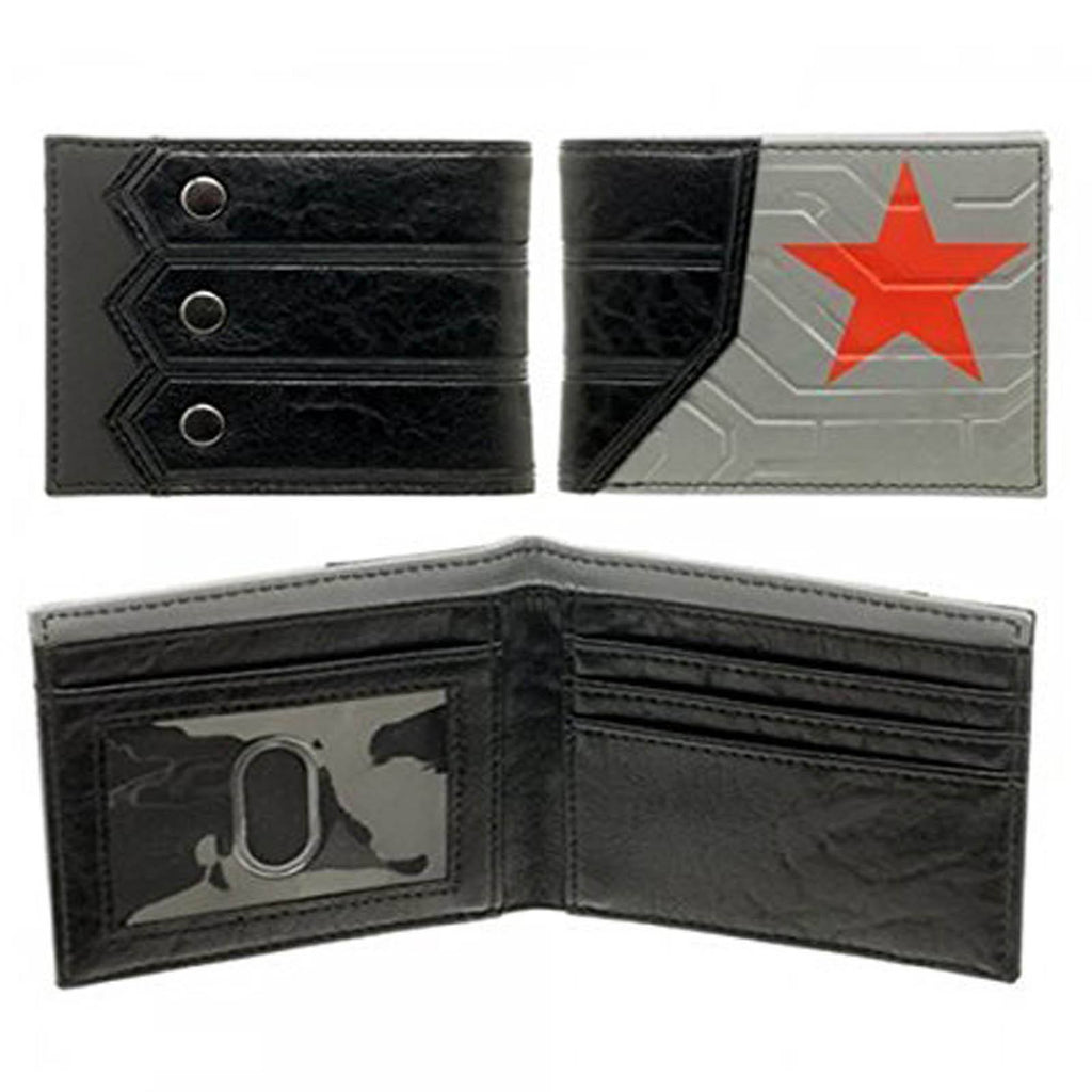 Marvel Comics Winter Soldier Boxed Bi-Fold Wallet