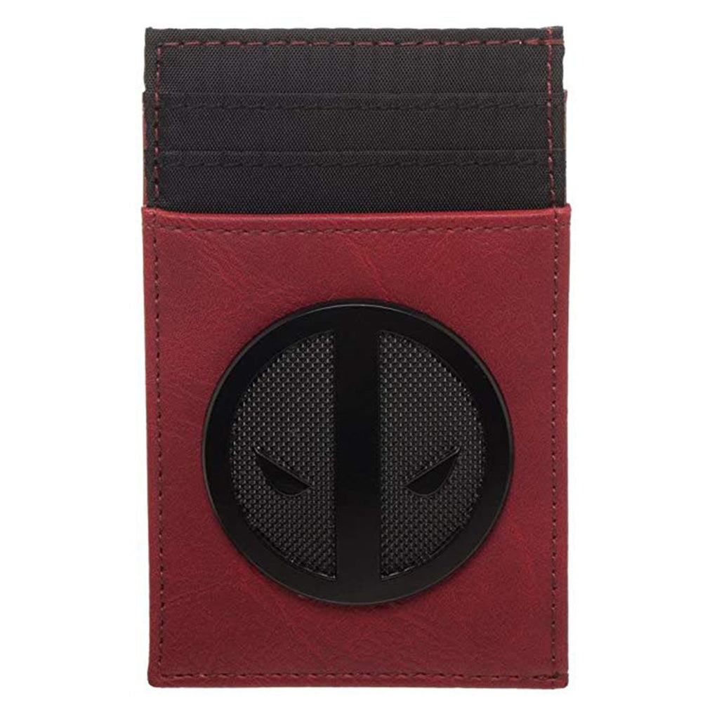 Marvel Deadpool Credit Card Holder Red Wallet