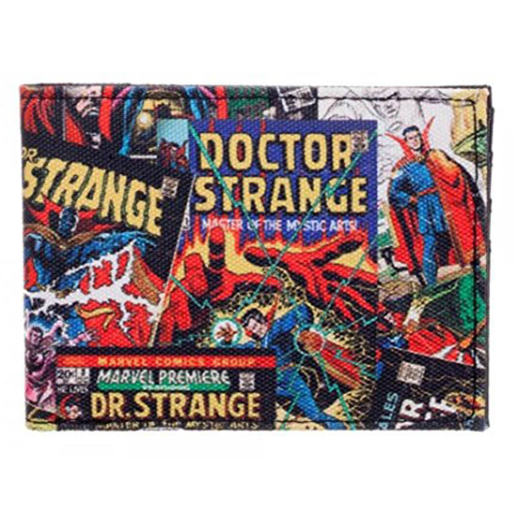 Marvel Doctor Strange Comic Covers Bi-Fold Wallet