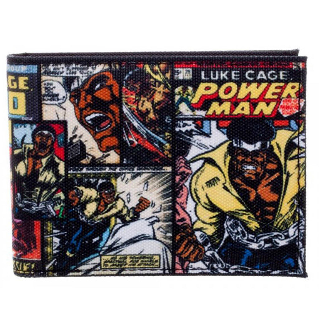 Marvel Luke Cage Comic Covers Bi-Fold Wallet
