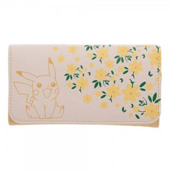Pokemon Pikachu Floral Envelope Wallet - Radar Toys