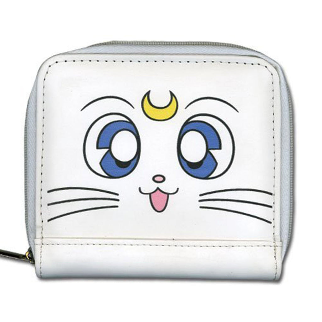 Wallets - Sailor Moon Artemis White Zip Wallet