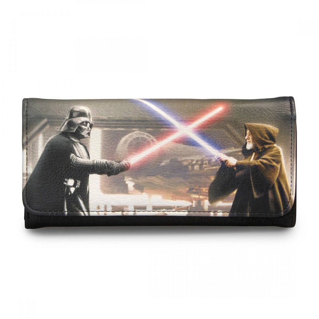 Star Wars Darth Vader & Obi-Wan Photo Real Wallet