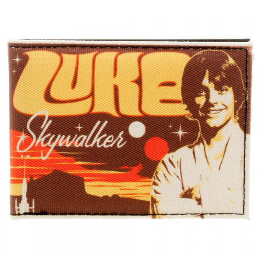 Star Wars Luke Skywalker Retro Bi-Fold Wallet - Radar Toys
