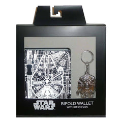Wallets - Star Wars Millennium Falcon Wallet And Keychain Box Set