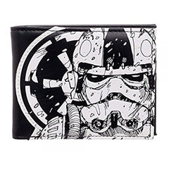 Wallets - Star Wars Trooper Black And White Bi-Fold Wallet