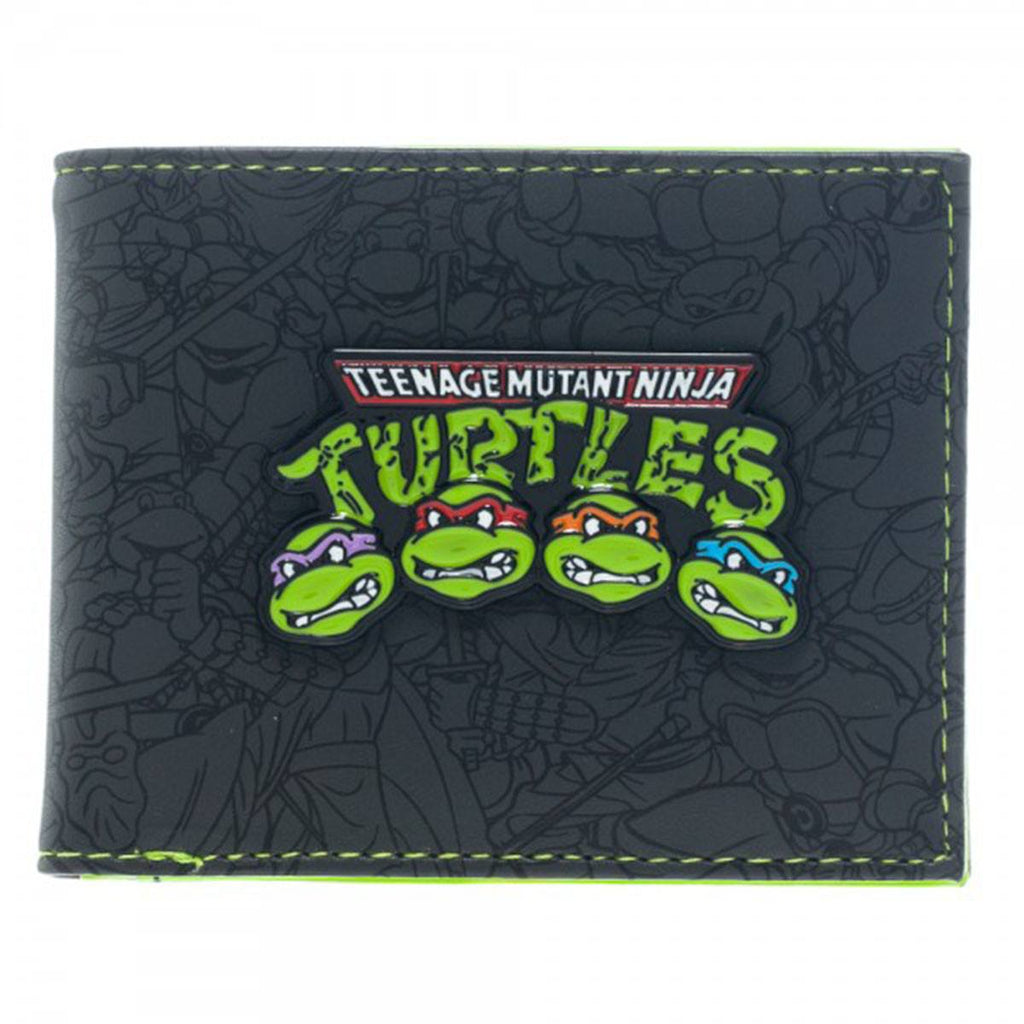 Teenage Mutant Ninja Turtles Group Bi-Fold Wallet - Radar Toys