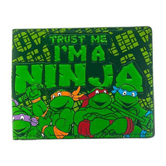Wallets - Teenage Mutant Ninja Turtles I'm A Ninja Fat Free Bi Fold Wallet