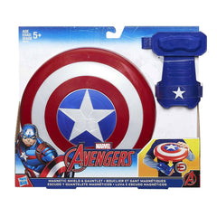 Youth Costumes - Marvel Avengers Captain America Magnetic Shield And Gauntlet