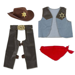 Youth Costumes - Melissa And Doug Cowboy Role Play Set