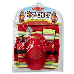 Youth Costumes - Melissa And Doug Fire Chief Role Play Costume Set