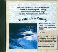 Scans of Twp. Warrantee Maps of Washington