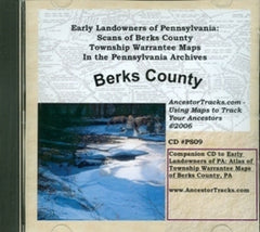 Scans of Twp. Warrantee Maps of Berks Co., PA