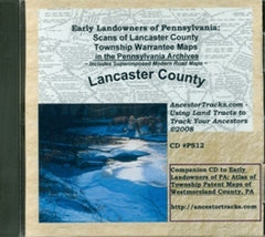 Scans of Twp. Warrantee Maps of Lancaster Co., PA