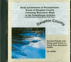 Scans of Twp. Warrantee Maps of Dauphin Co., PA