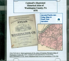 Caldwell's Illustrated Combination Historical Atlas of Washington Co., PA, 1876