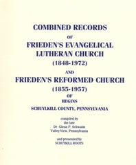 Combined Records of Frieden's Evangelical Lutheran Church