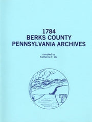 1784 Berks County, Pennsylvania Archives