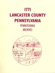 1771 Lancaster County, Pennsylvania Archives