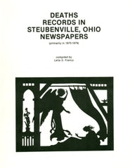 Jefferson Co. Deaths Rec. in Steubenville, OH Newspapers
