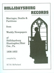 Hollidaysburg Records