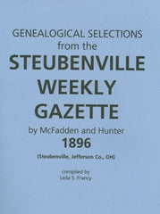 1896 Genealogical Selections from the Steubenville Weekly Gazette
