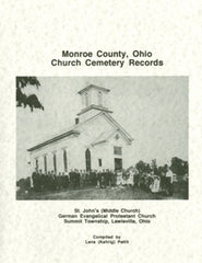 Monroe County, Ohio Church Cemetery Records
