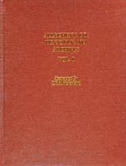 Allegheny County, Pennsylvania Archives, Volume 1