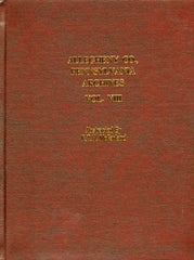 Allegheny County, Pennsylvania Archives, Volume 8