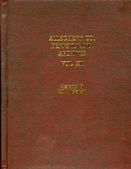 Allegheny County, Pennsylvania Archives, Volume 12