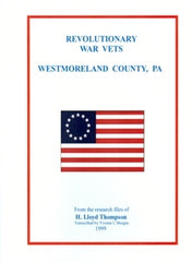 Revolutionary War Vets - Westmoreland County, PA
