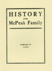 History of the McPeak Family