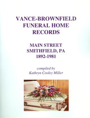 Vance-Brownfield Funeral Home Records