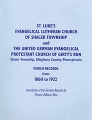 St. Luke's Evang. Luth. and the United German Evang. Prot. Church