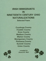 Irish Immigrants in 19th Century Ohio II
