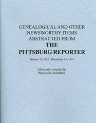 Genealogical and Other Newsworthy Items