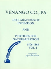 Venango Co., PA Declarations of Intention and...