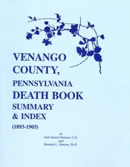 Venango Co., PA Death Book Summary & Index