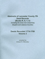 Abstracts of Lancaster County, PA Deed Records, Vol. 2