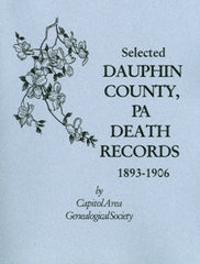 Selected Dauphin County, PA Death Records