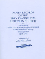 Parish Records of the Eden Evangelical Lutheran Church