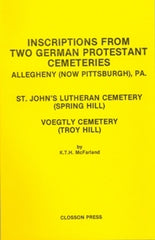 Inscriptions from Two German Protestant Cemeteries