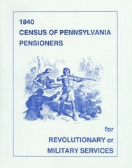 1840 Census of PA Pensioners