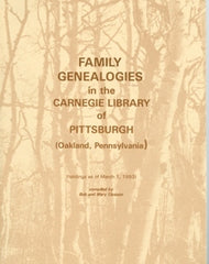 Family Genealogies in the Carnegie Library