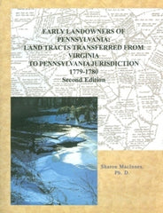Early Landowners of PA: Land Tracts Transferred from VA to PA