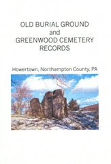 Old Burial Ground and Greenwood Cemetery Records